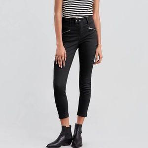 Levi's 721 High Rise Skinny Moto Jeans